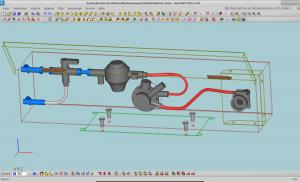 Gastankanschlüsse in der CAD-Konstruktion