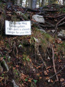 Wichtig für die Reise 1: nicht jede Warnung ernst nehmen