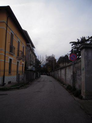 So sieht eine Straße aus, die nach Galileo Galilei benannt ist