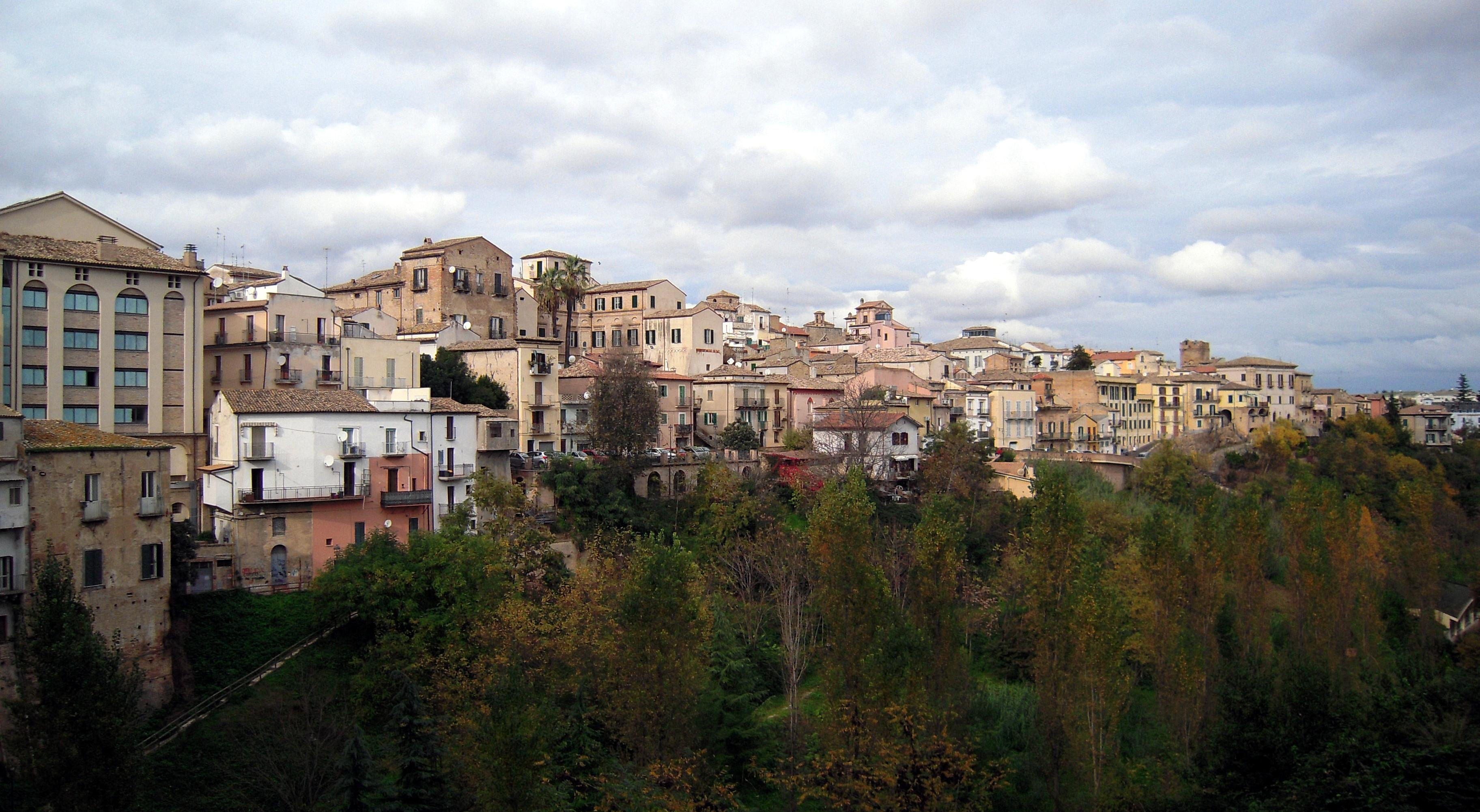 Das Abruzzen-Bergstädchen Lanciano