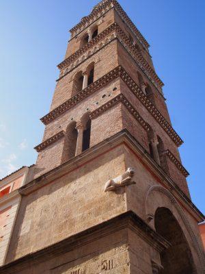Für den Bau des Romanischen Doms in Gaeta wurde kein gestohlenes Baumaterial verwendet