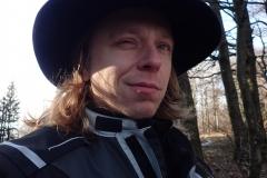 Hutling im Wald